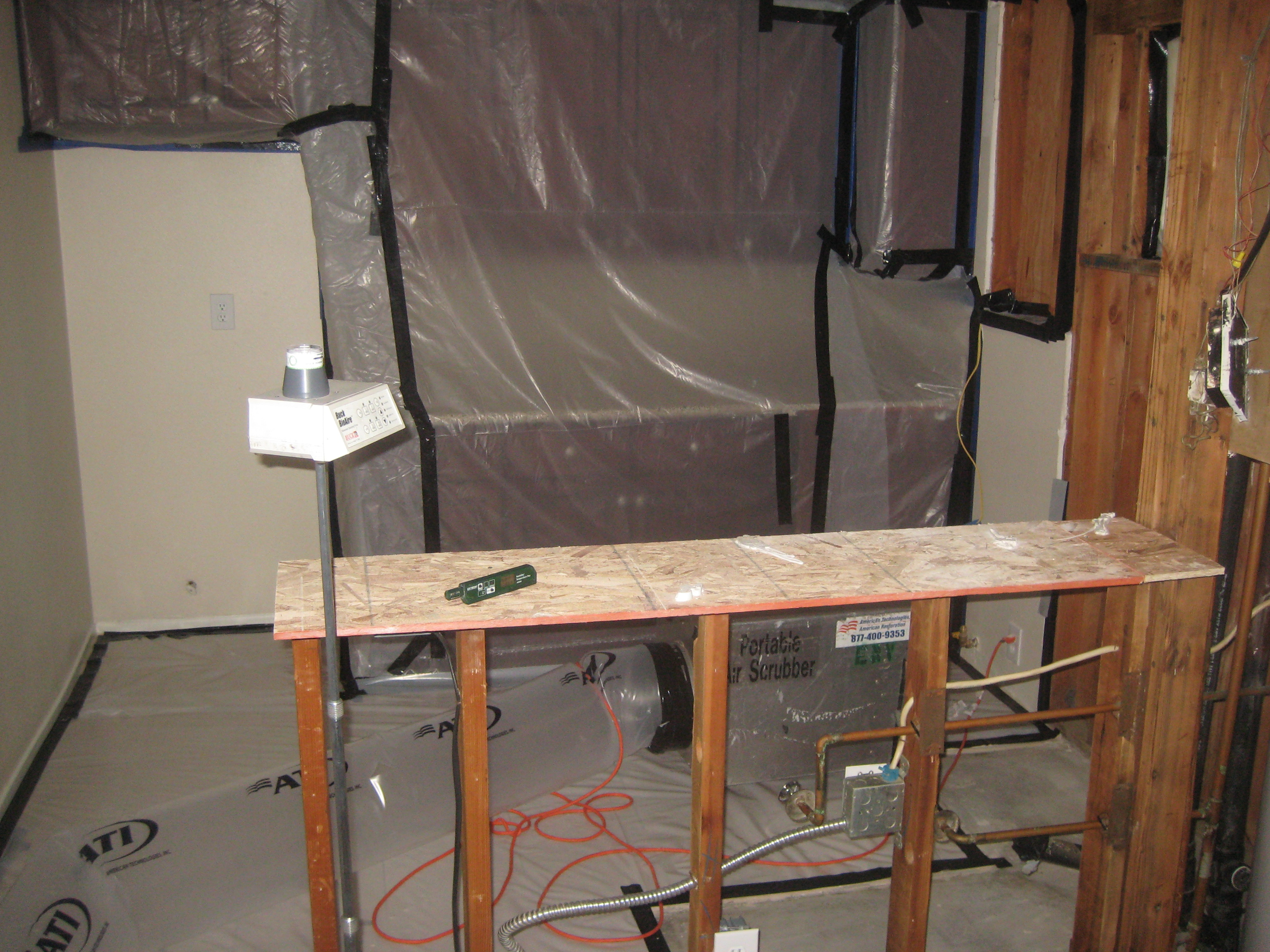 Mold Remediation Inspection | Los Angeles, CA