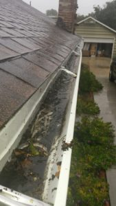 Prevent water damage by inspecting the rain gutters in your home