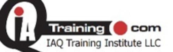 IAQ Training Courses June 2016